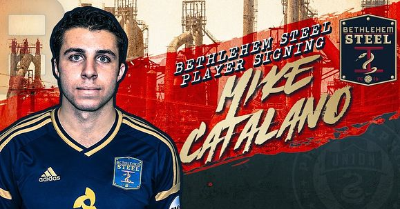 News Today: The Bethlehem Steel have signed Philadelphia Union draft pick Mike Catalano (). Catalano was selected 54th overall in the third round in the 2018 @mls Superdraft and is the second Superdraft pick to be signed by the Steel. Catalano is a balanced center-midfielder with an eye for goal. Also former Philadelphia Union striker Charlie Davies () has retired at the age of 31. Even though Davies wasnt prolific in blue and gold I have a lot of respect for him as both a player and person…