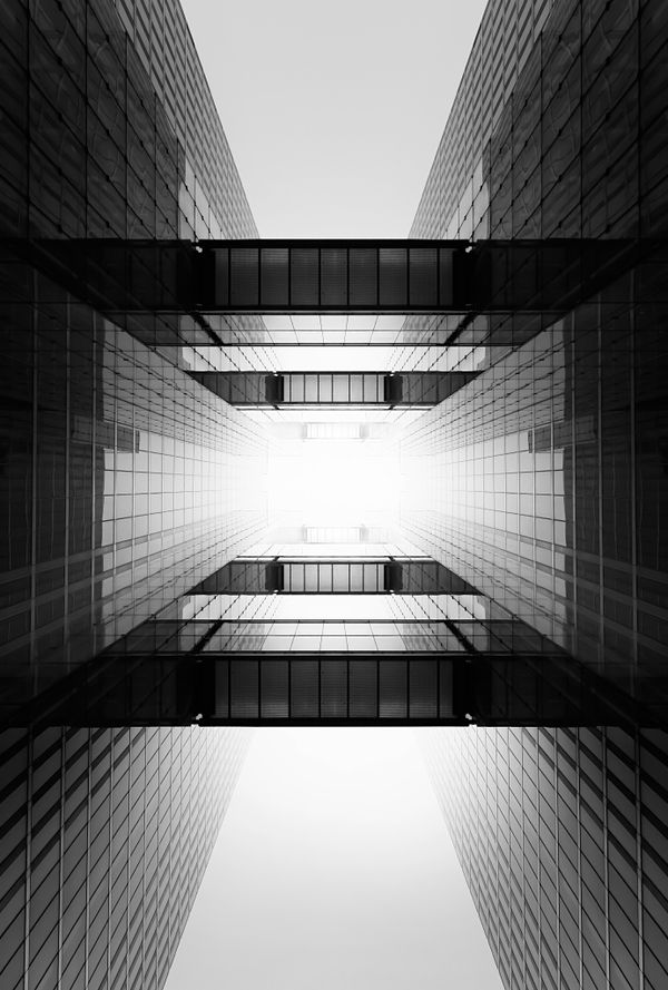 Inspired photographs of architecture from Nick Frank's 'Space and Beyond' series via Trendland - wow