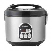 Aroma ARC-848SB 16-Cup Digital Rice Cooker & Food Steamer