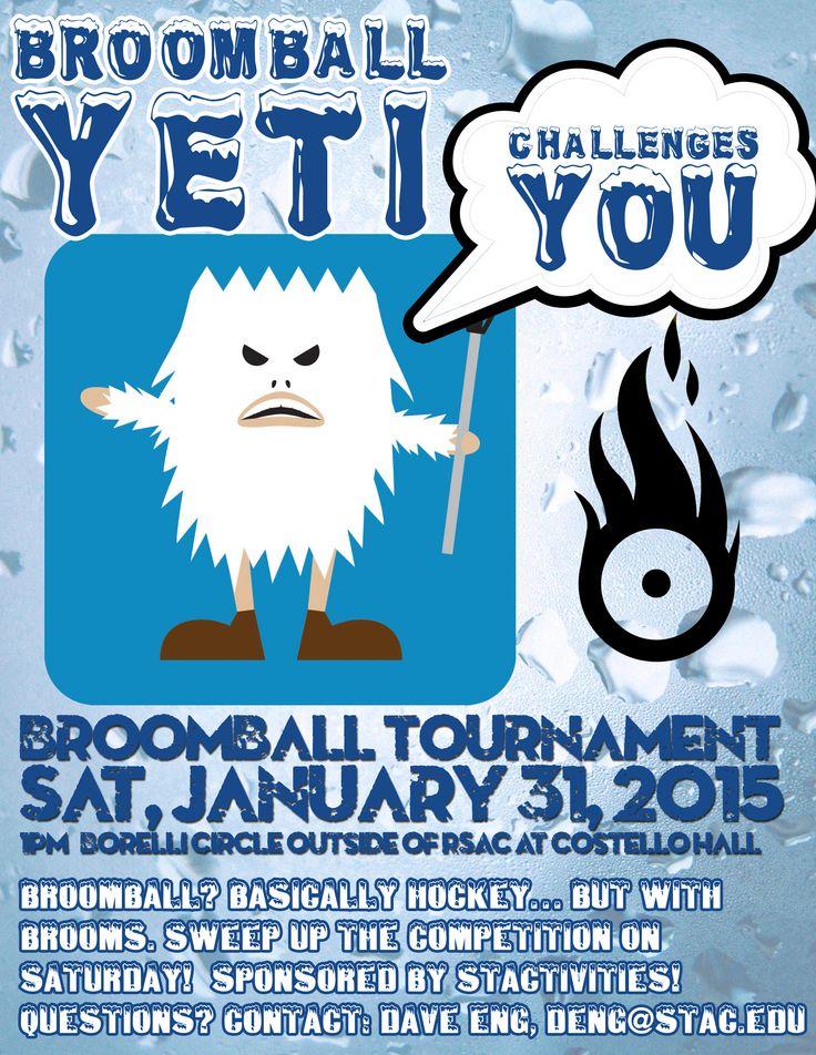 Broom Ball Tournament Student activities, Thomas aquinas