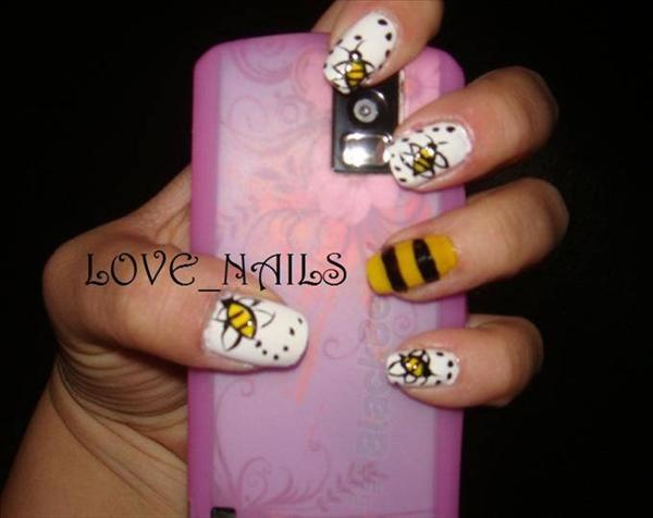 94 best ladybug strawberry nails images on pinterest ladybug bee mine prinsesfo Choice Image
