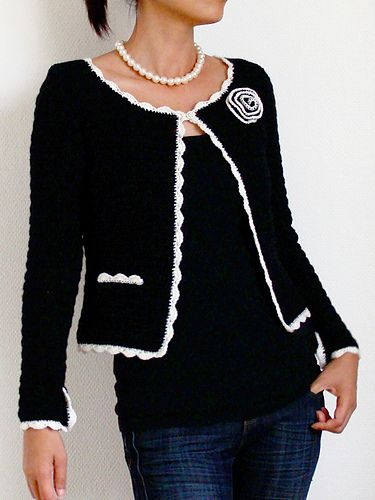 Ravelry: Jasmine Cardigan pattern by Lthingies