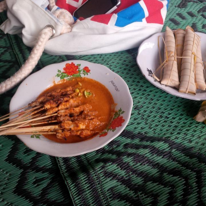Sate Bulayak - Suranadi di Lombok Barat