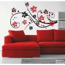 Resultado de imagen para paredes decoradas CON FLORES