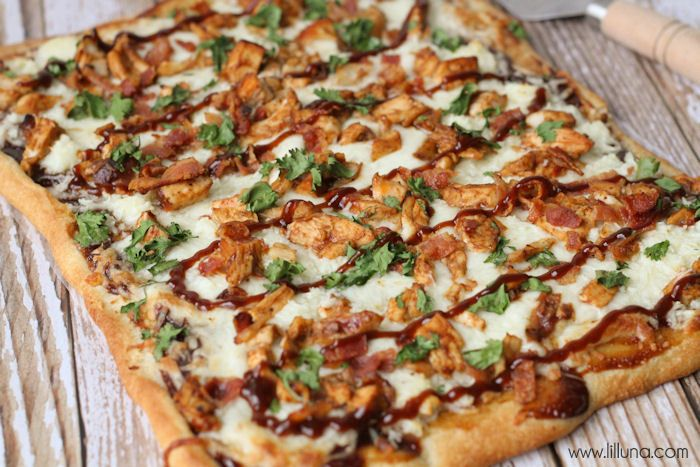 barbecue chicken pizza | The Main Dish! | Pinterest
