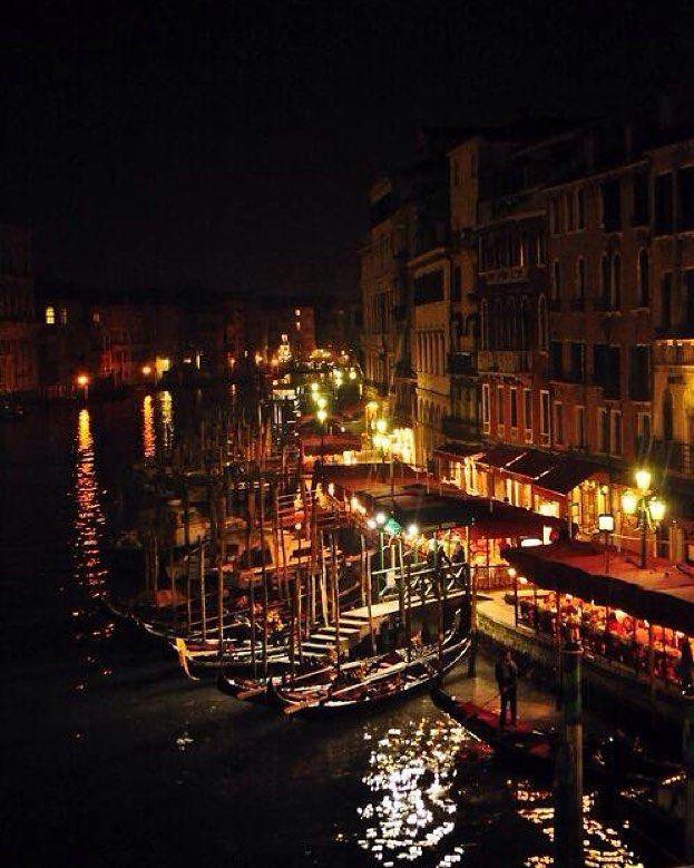 Una noche magica en Italia.