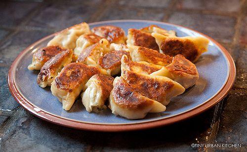 Tiny Urban Kitchen: Homemade Chinese Dumplings (jiao zi)