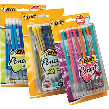 BIC® Mechanical Pencils with Assorted Colorful Barrels big pack pf mechanical pencils or really colorful pencils