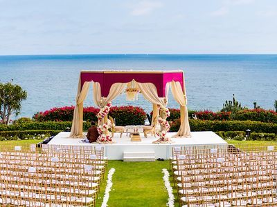 This magical Indian destination wedding of Melanie and Neeraj was set in the picturesque Caribbean. The chic and heartfelt wedding details creates a timeless style for all to enjoy.