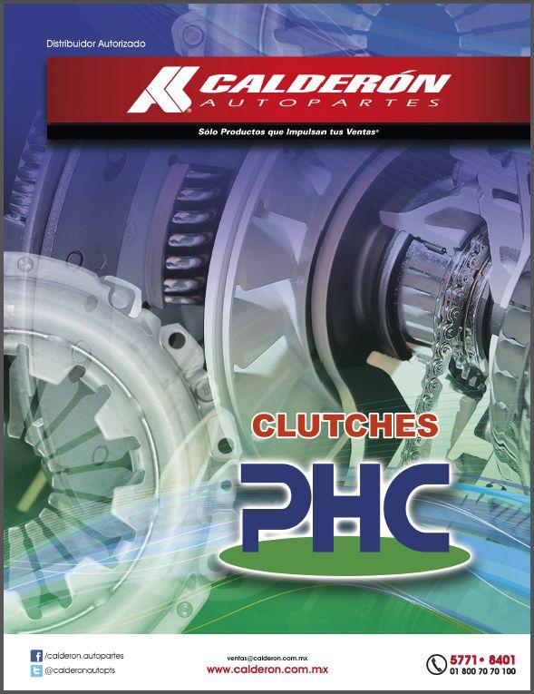 Encuentra la nueva línea de Clutches #PHC sólo en Calderón Autopartes Somos distribuidor autorizado. ¡No busques más! Link: http://www.calderon.com.mx/images/boletin/44.pdf