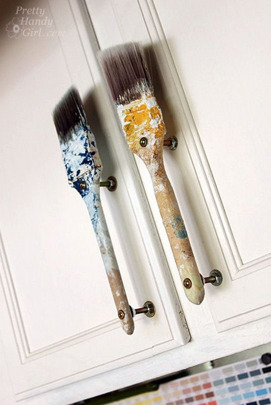 14 Creative Diy Drawer Pulls You Can Make Yourself Home Decorating Drawers Cabinet Door Handles My Art Studio