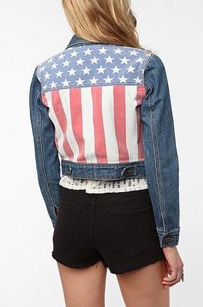 Patriotic Jacket.