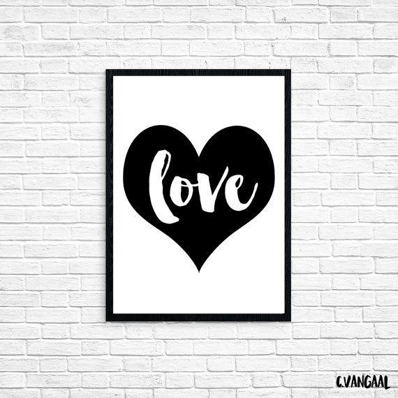 Foil Love Print