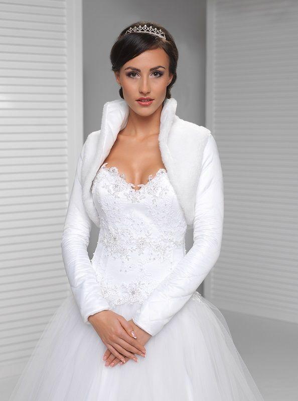 Bolerka | svatební bolerko zateplené | Levné svatební šaty, svatební šaty levně - prodej