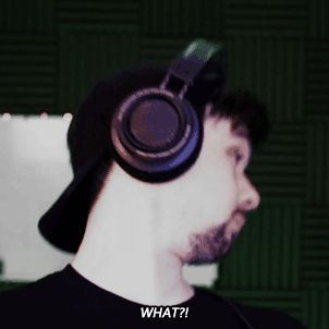 """Me every time I hear the word """"project"""" from mark and/or Sean's mouth"""