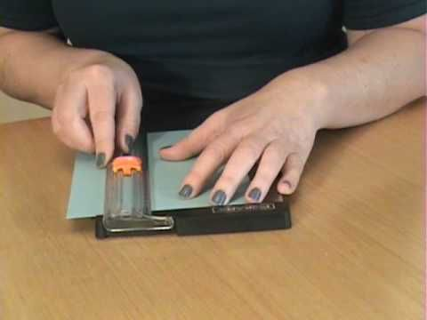 EASY DIY How To Sharpen Your Fiskars Trimmer Blade - YouTube