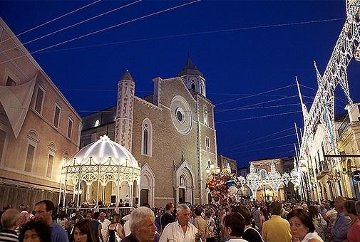Lucera historic center