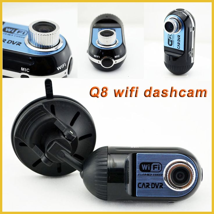 "1.5"" LCD Screen Mini dvr car wifi 1080p hd blackbox dashboard dash cam with 170 degree wide angle lens"