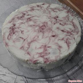 Творожный торт с вкусом пломбира