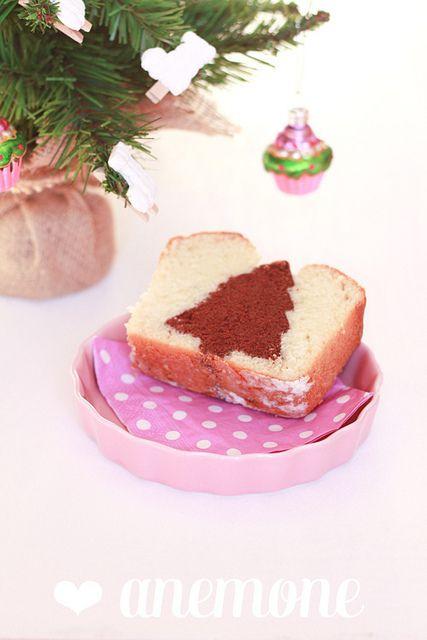 Cake con albero di Natale by anemone's corner, via Flickr