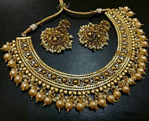 VVS Jewellers Traditional Bollywood Gold Plated White Pea... https://www.amazon.ca/dp/B01N4AGOCQ/ref=cm_sw_r_pi_dp_x_FyRNyb7FFB43H