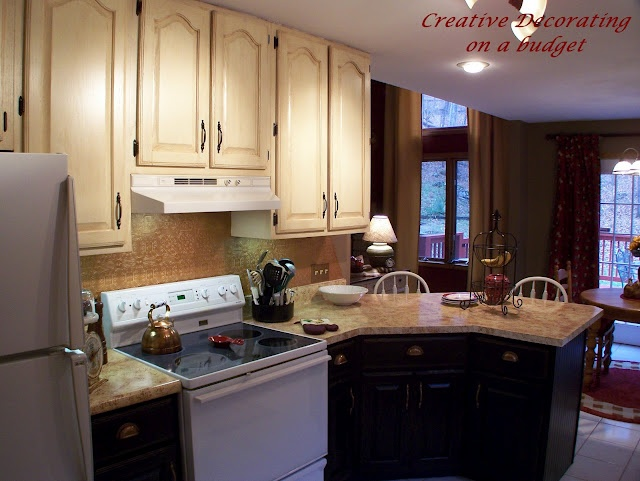 kitchen cabinets dark bottom white top kitchen cabinet redo bottom light top hmmmm 20250