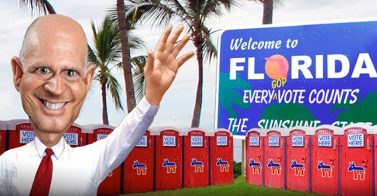 Sound familiar? Republican Voter Fraud: Florida Poll Workers Caught Hiding Democratic Votes In Closet