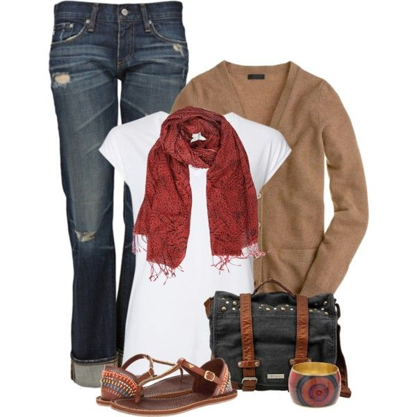 Keepin' it casual, created by mommygerloff on Polyvore