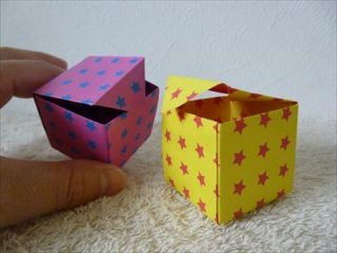 クリスマス 折り紙 折り紙箱折り方長方形 : jp.pinterest.com