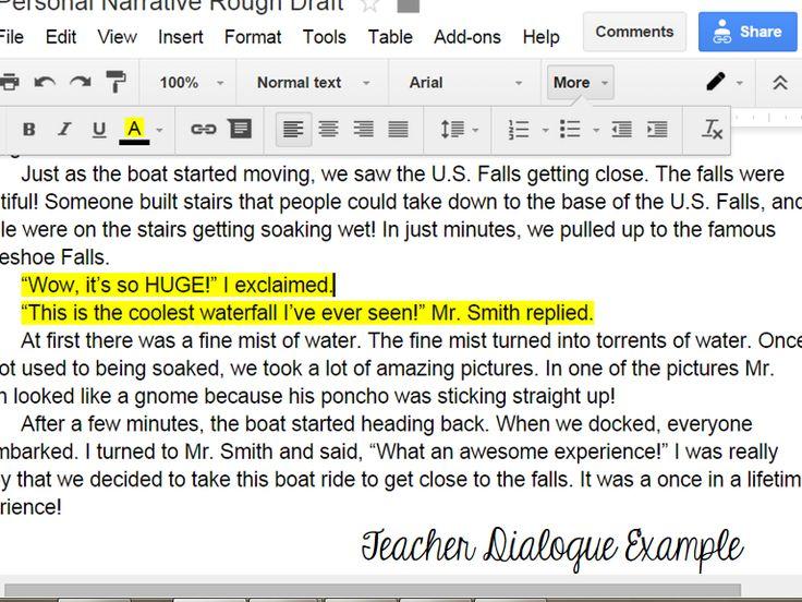 google essay writing