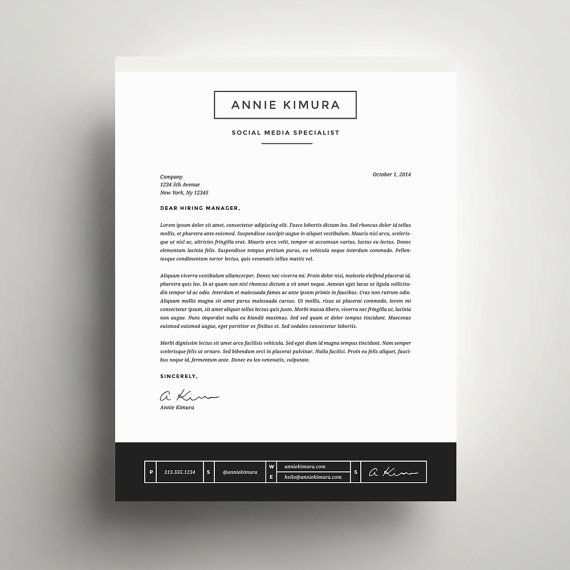 Lettre De Motivation Template