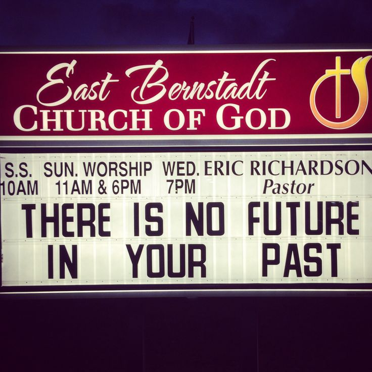 Sayings And Quotes Sign: Church Signs