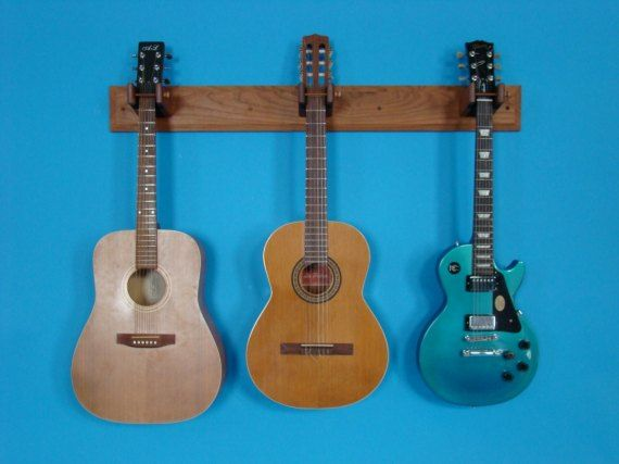trio wall mount guitar rack husband pinterest colors plays and the o 39 jays. Black Bedroom Furniture Sets. Home Design Ideas