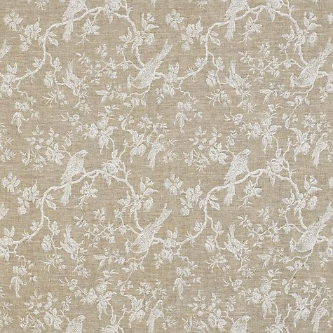 Buy John Lewis Botanica Bird Curtain White From Our Made To Measure Curtains In 7