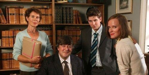 Kingdom - Stephen Fry, Hermione Norris, Celia Imrie, Karl Davies, Tony Slattery, Phyllida Law and Neil Stuke