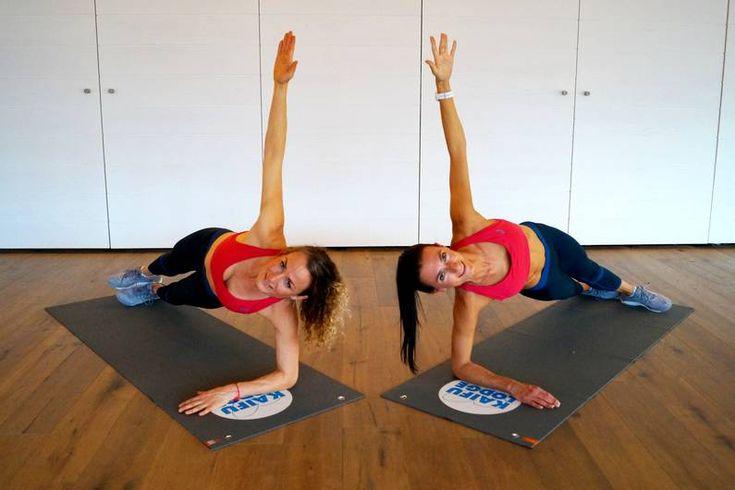 9 Übungen im Video: Das Planking-Workout für Anfänger