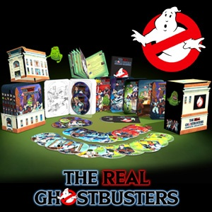 the real ghostbusters set