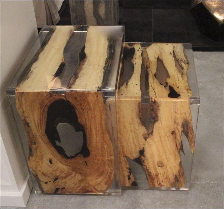 Wood encased in wood