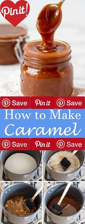 How to Make Caramel Three ingredients are all you need to make smooth and creamy homemade caramel sauce. Ingredients Vegetarian Gluten free Baking & Spices 2 cups Granulated sugar Dairy 12 tbsp Butter unsalted 1 cup Heavy cream