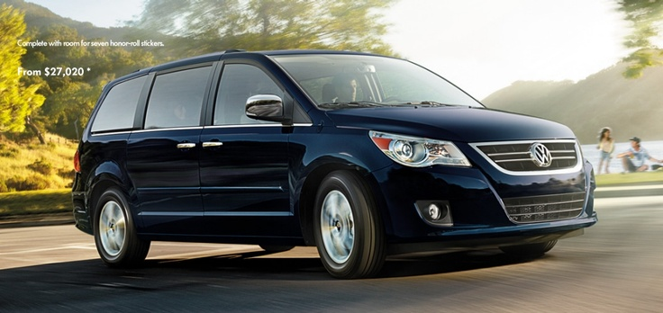 2010 VW Routan Minivan. Bought this for business use. It was horrible and poorly made (really a Chrysler minivan) and I quickly traded it in for a Mercedes ML 350 Bluetec