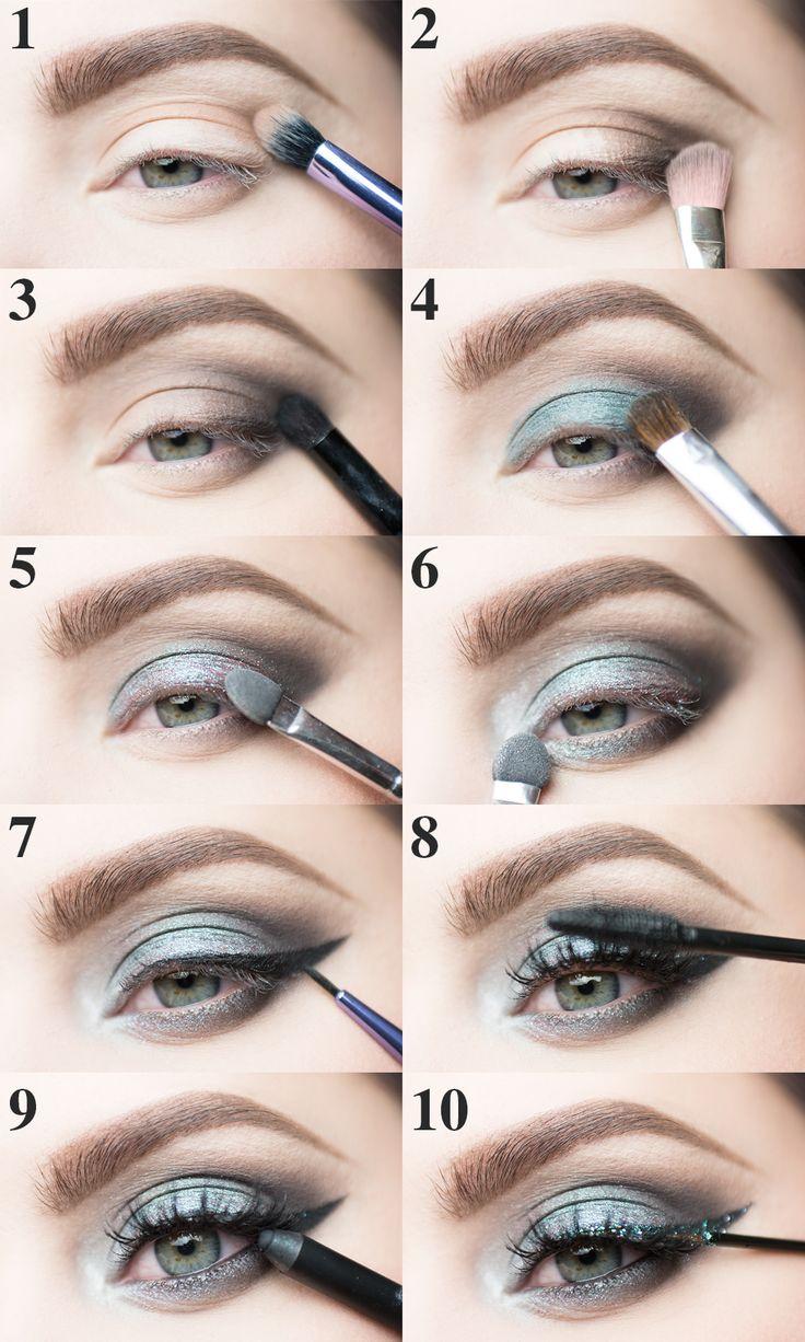 new year solstice molkan tutorial nyår sminkning makeup