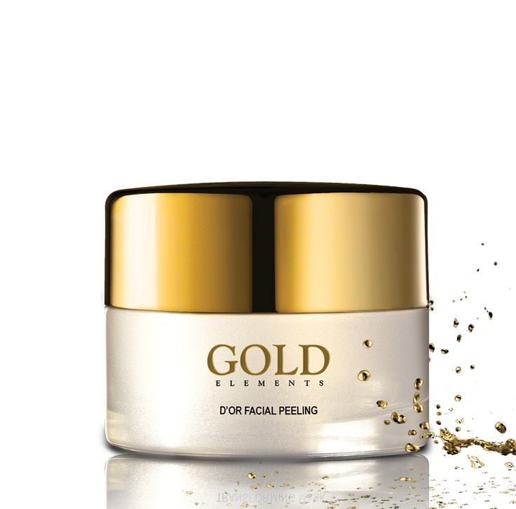 The GOLD elements D'or Facial Peeling is a soft, golden facial peel, enriched with active ingredients to assist in removing dead skin cells.
