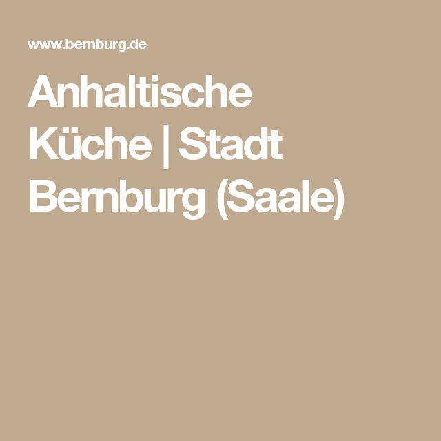 Anhaltische Küche|Stadt Bernburg (Saale)