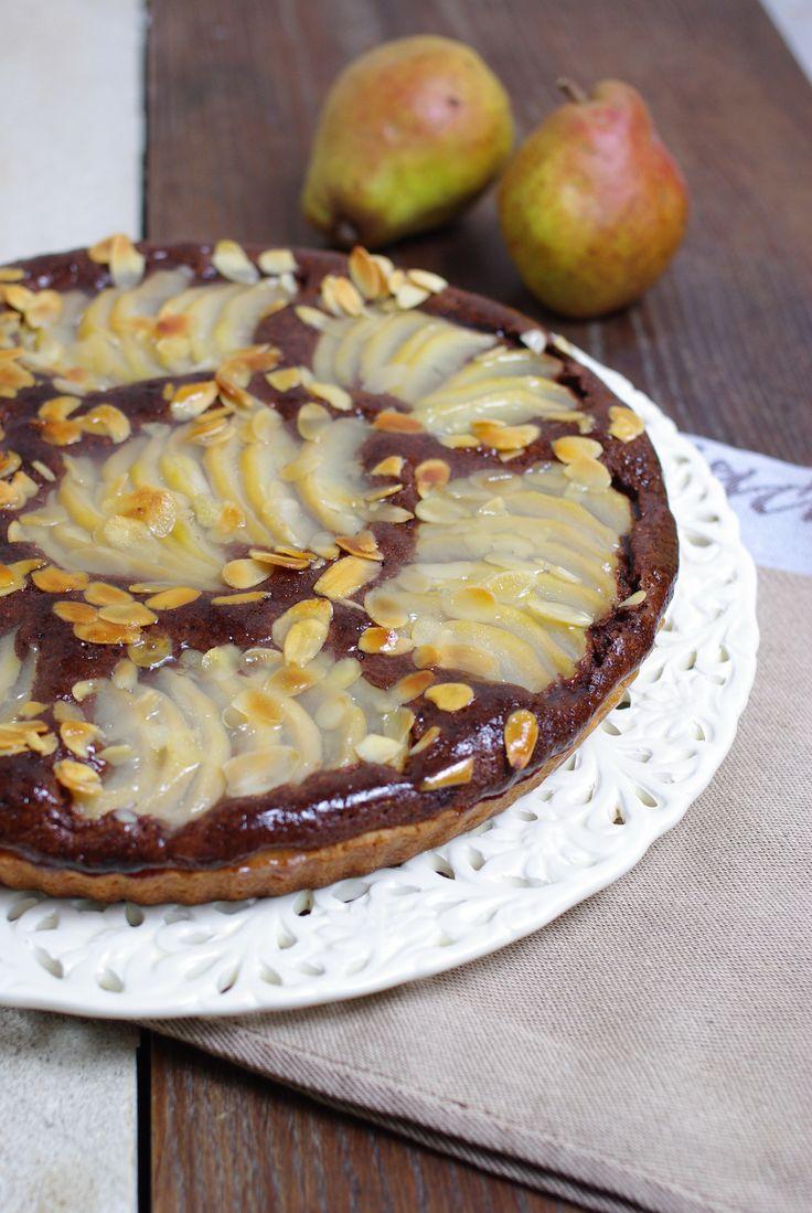 1000 ideias sobre tarte chocolat poire no recette tarte chocolat tarte chocolat e