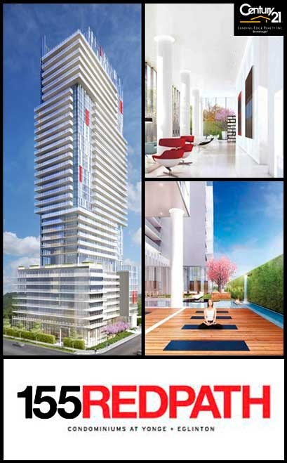 155 RedPath Condo by Freed Developments - Exclusive VIP Access - Now Open to First Access members! Membership Is Free. Join Now! http://www.century21.ca/leadingedgerealty/New_Condos