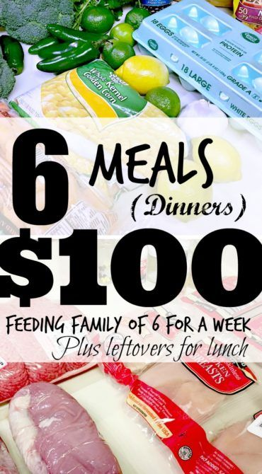 Put money back in your pockets! Feeding your family for $100 a week! #weekone #savemoney