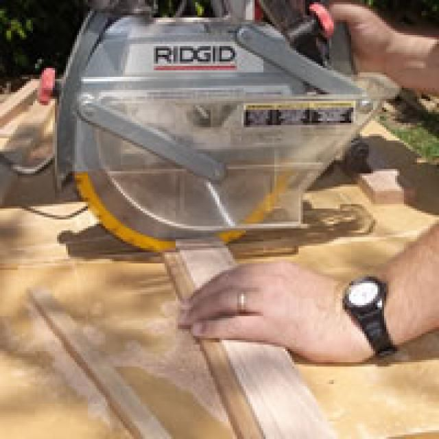 Build a Tall Oak Mirror with These Free Woodworking Plans: Cut the Oak Pieces to Size