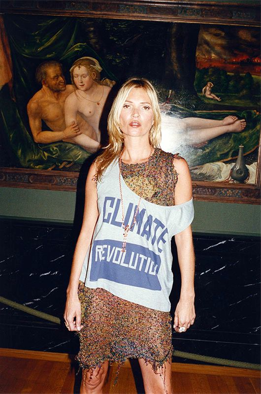 The Style Examiner: Vivienne Westwood Launches 'Climate Revolution' Charitable T-shirts