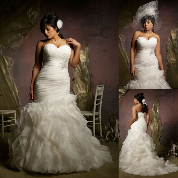 Cute Dress is a mon type of plus size wedding dress corset styles because the strapless style