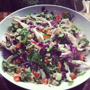 I Quit Sugar - Roast Chicken and Quinoa Salad